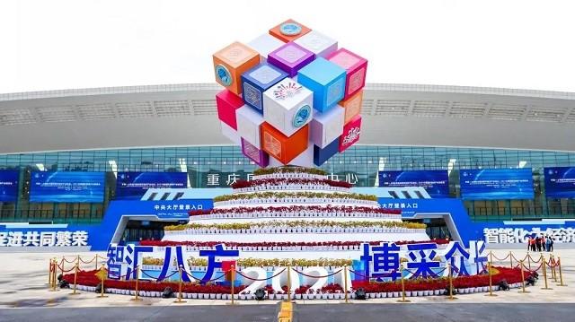 欧亿5亮相2021智博会:智能制造,添彩智慧生活