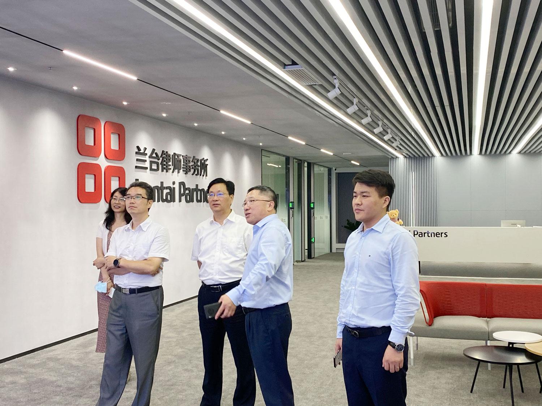 动态   江苏省工商联合会党组成员、副主席李晓林率调研组走访兰台南京办公室