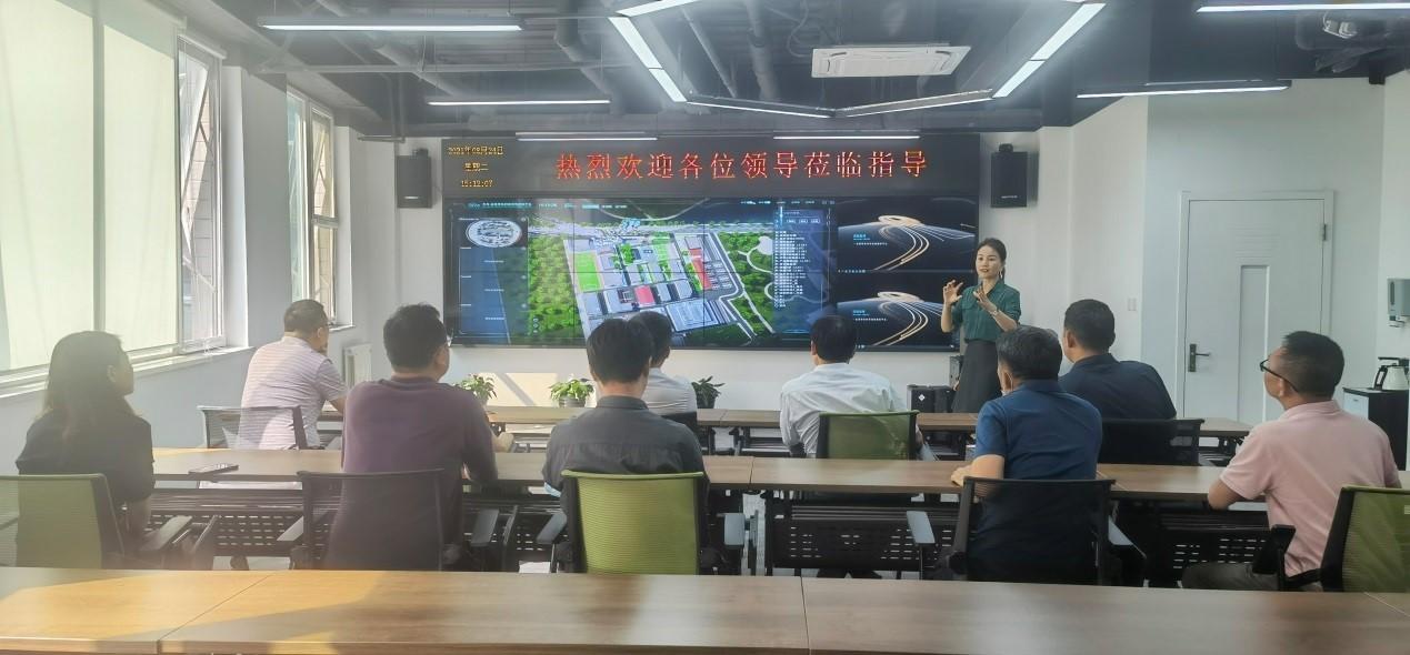 中国开发区协会制造业高质量发展专业委员会领导莅临智汇云舟考察调研
