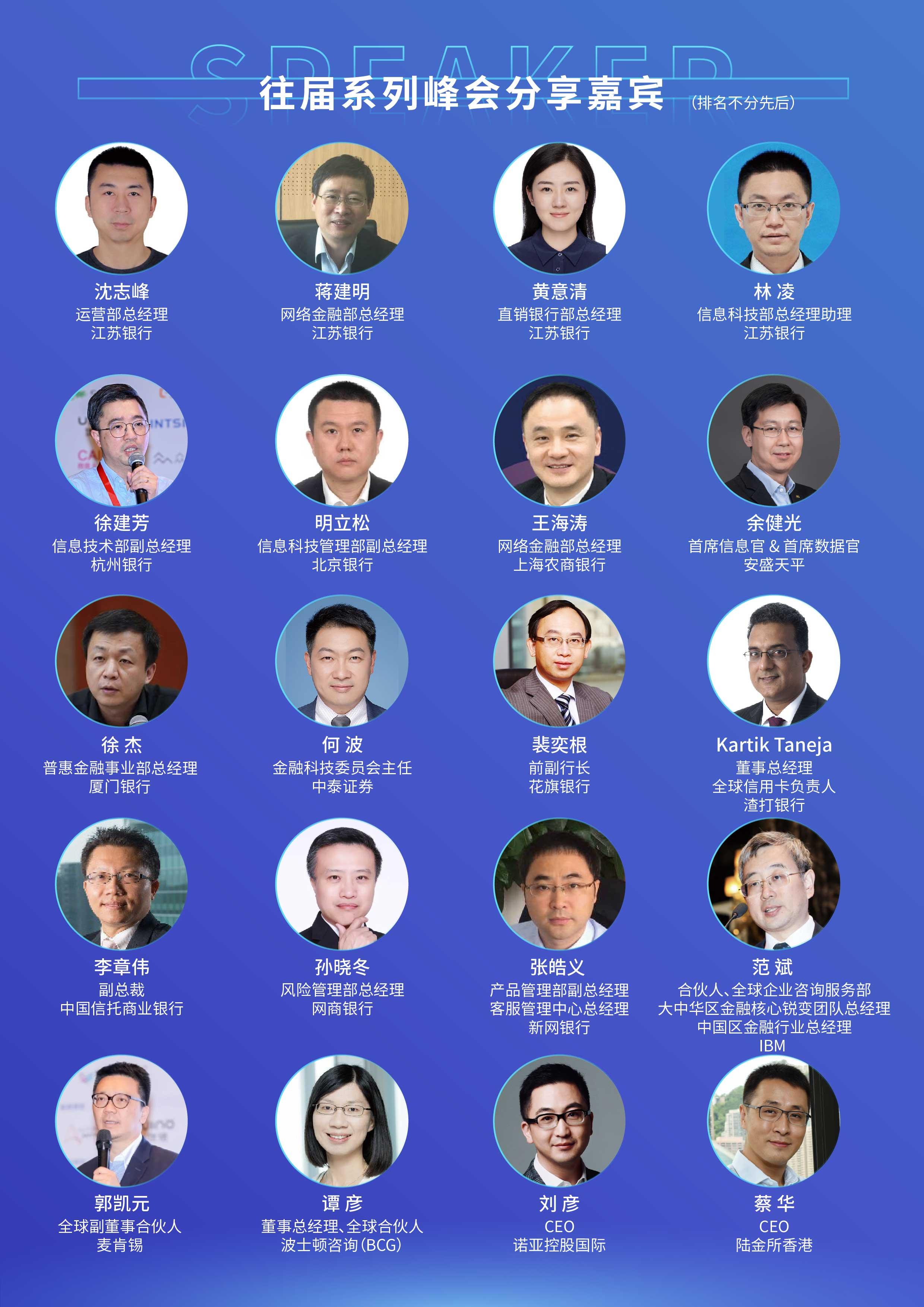 第二届金融服务创新与客户体验峰会2021