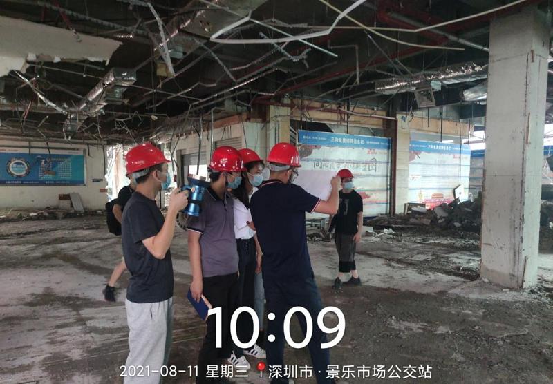 """告别""""旧印象""""建设奋斗城  景乐综合市场项目建设如期推进"""
