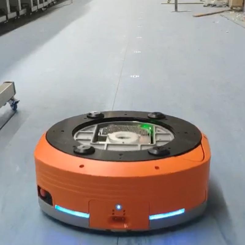 低压直流伺服电机在AGV机器人的应用,太广泛了