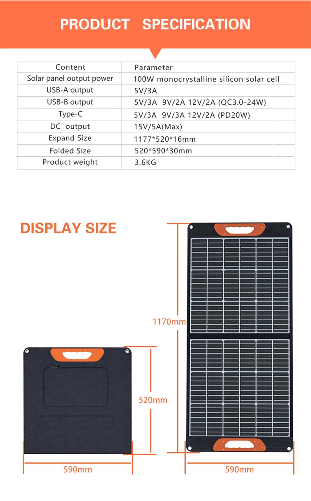 Folding Solar Panels