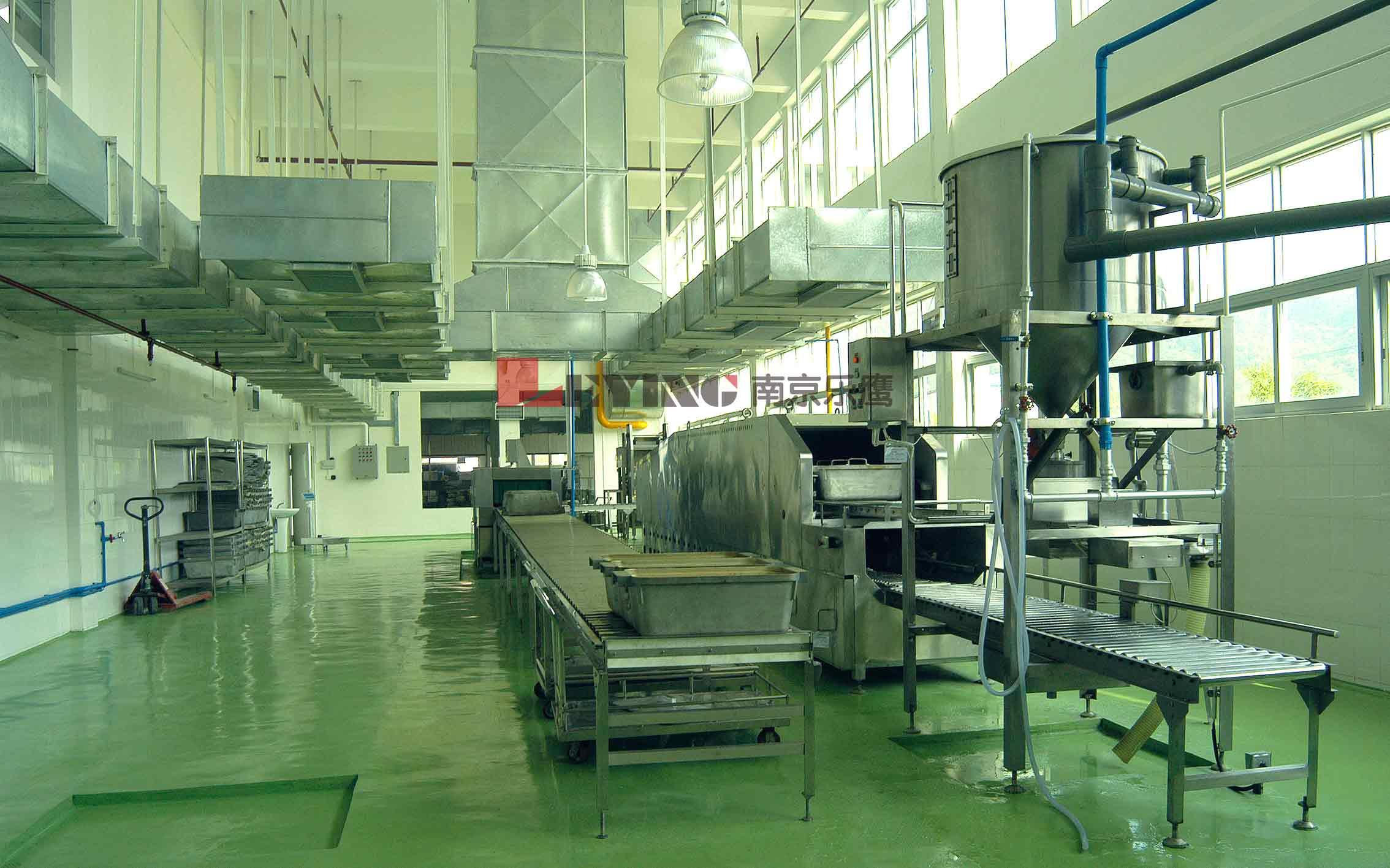 中央厨房/南京大学再次选择乐鹰中央厨房设备