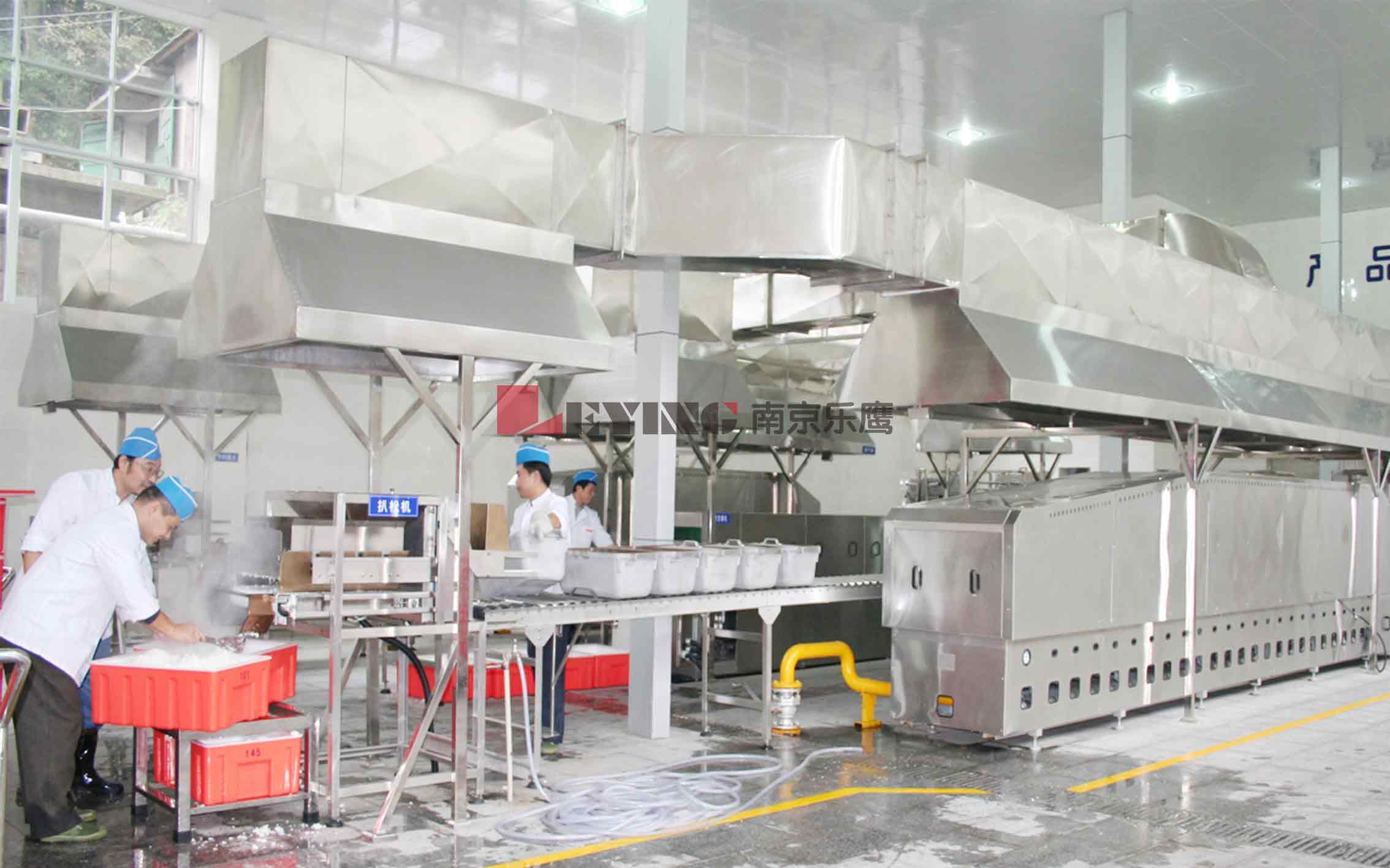 中央厨房 / 中南大学采购中央厨房米饭生产线