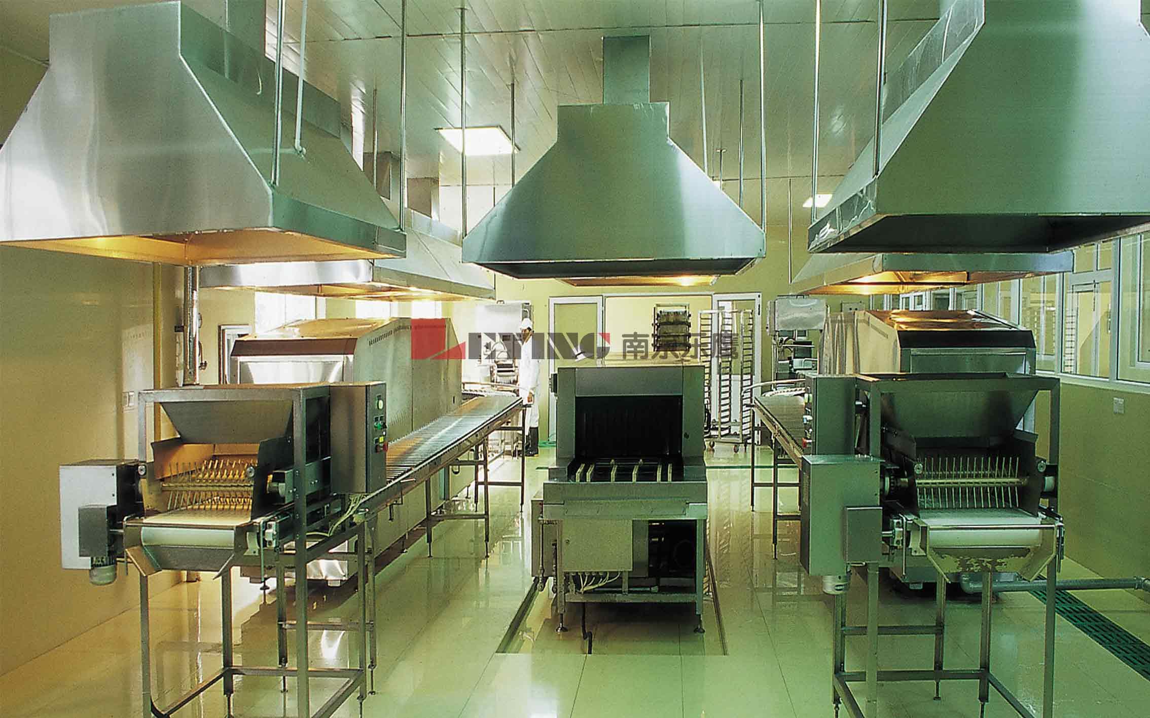 中央厨房 / 同济大学采购乐鹰牌中央厨房设备米饭生产线