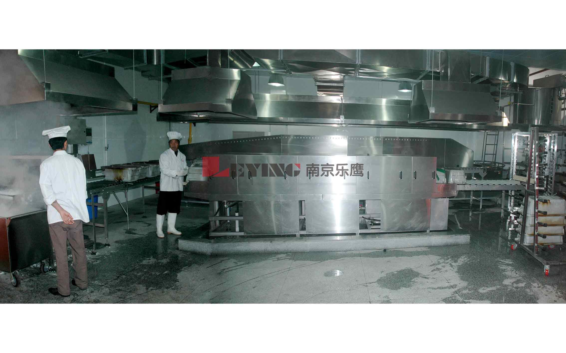 中央厨房 / 西安交通大学中央厨房设备米饭生产线