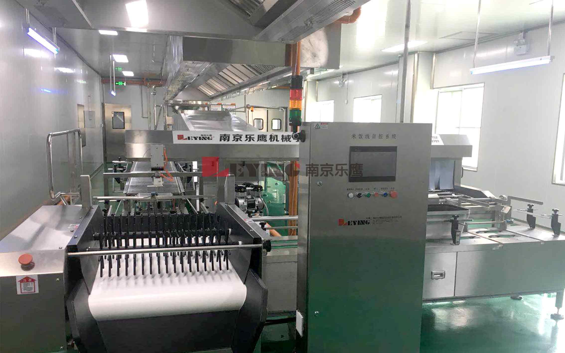 中央厨房 / 北京交通大学采购中央厨房设备全自动米饭生产线