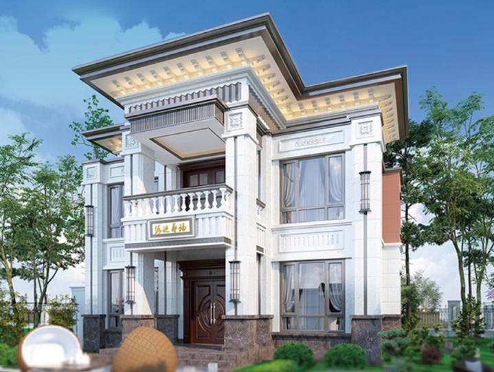农村二层自建别墅设计图纸赏析:筑就欧式经典,享受非凡生活