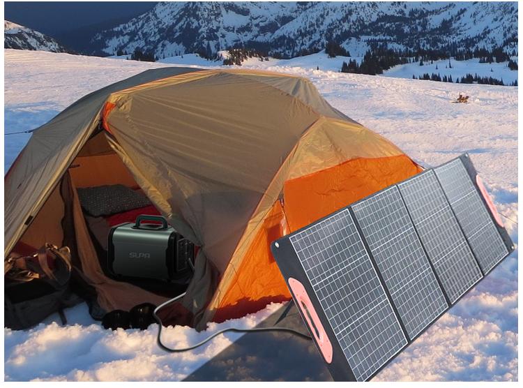 150W Folding Solar Panels