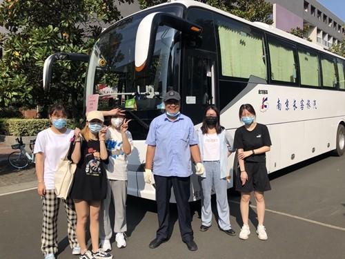 旅汽公司顺利完成南大学生校区搬迁火狐体育ios下载任务