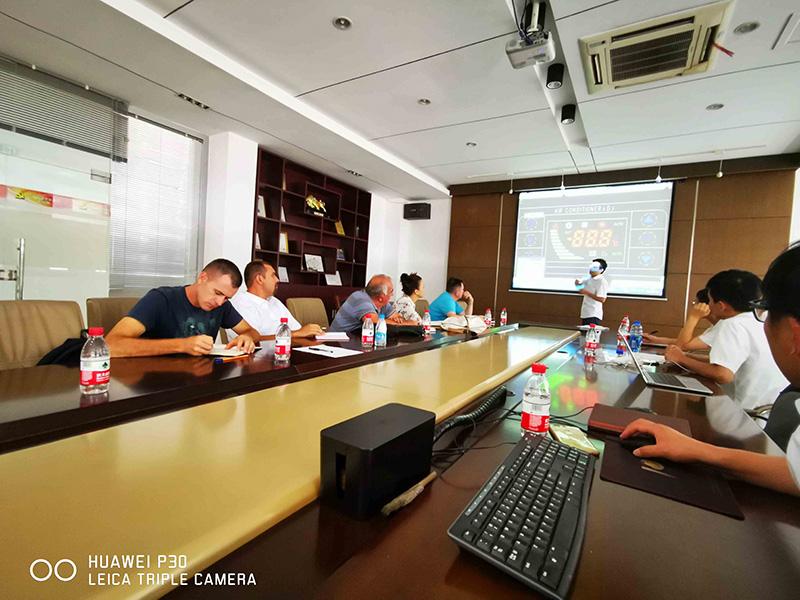 塞尔维亚客户至苏州新同创学习交流