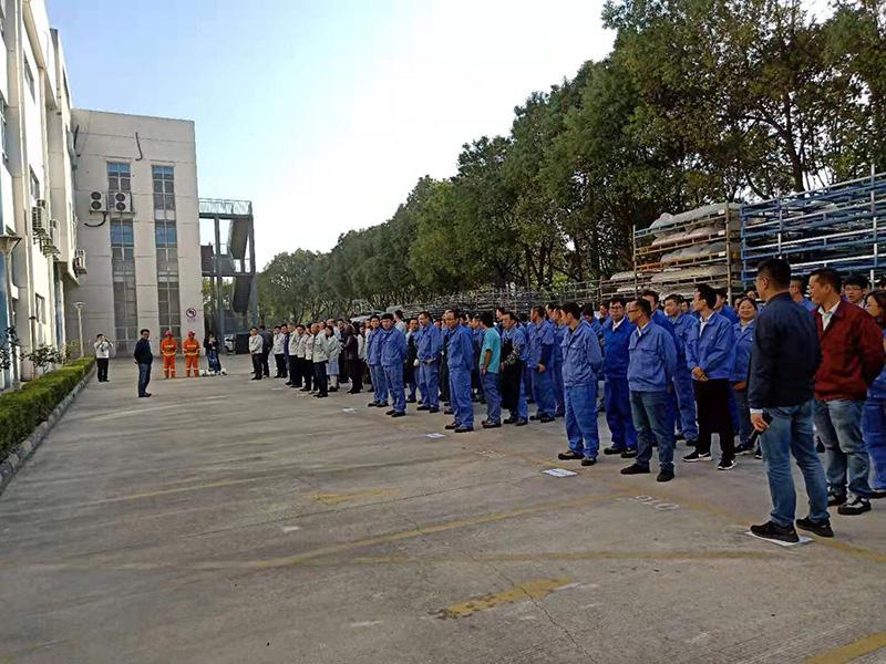 苏州新同创组织消防应急救援演练