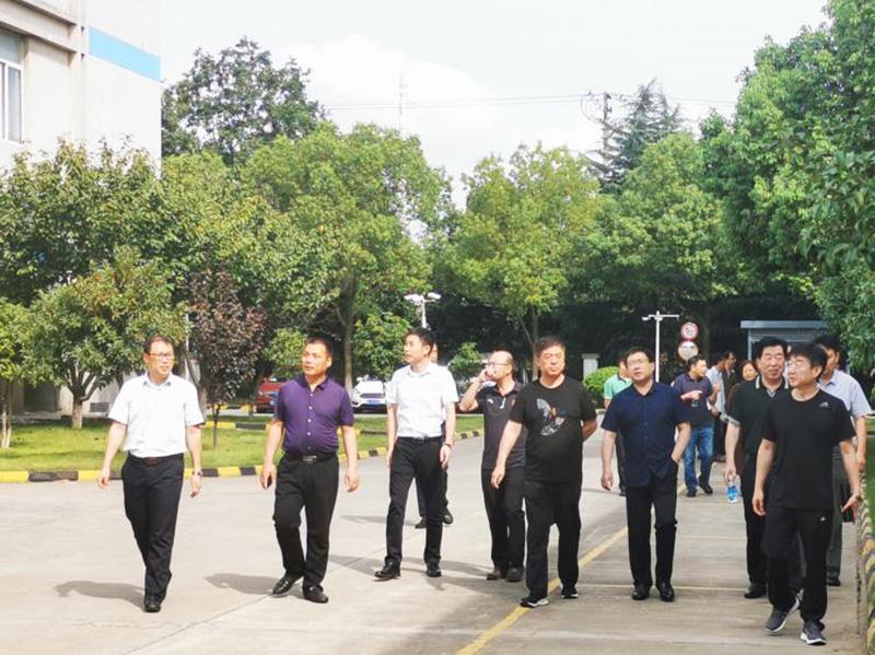 河北省城市公共交通协会一行莅临新同创调研指导