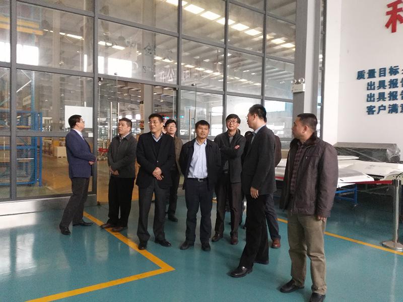 东风汽车零件(集团)有限公司领导到公司参观考察