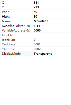 8.8 Movable icon