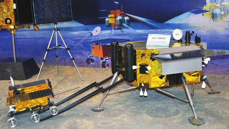 嫦娥三号探测器模型