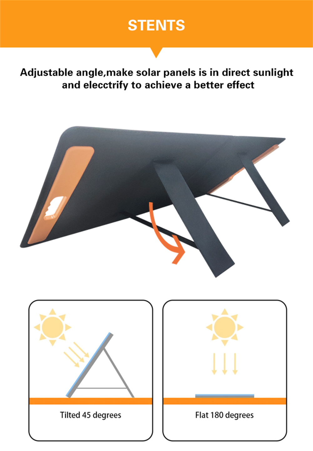 60W Folding Solar Panels
