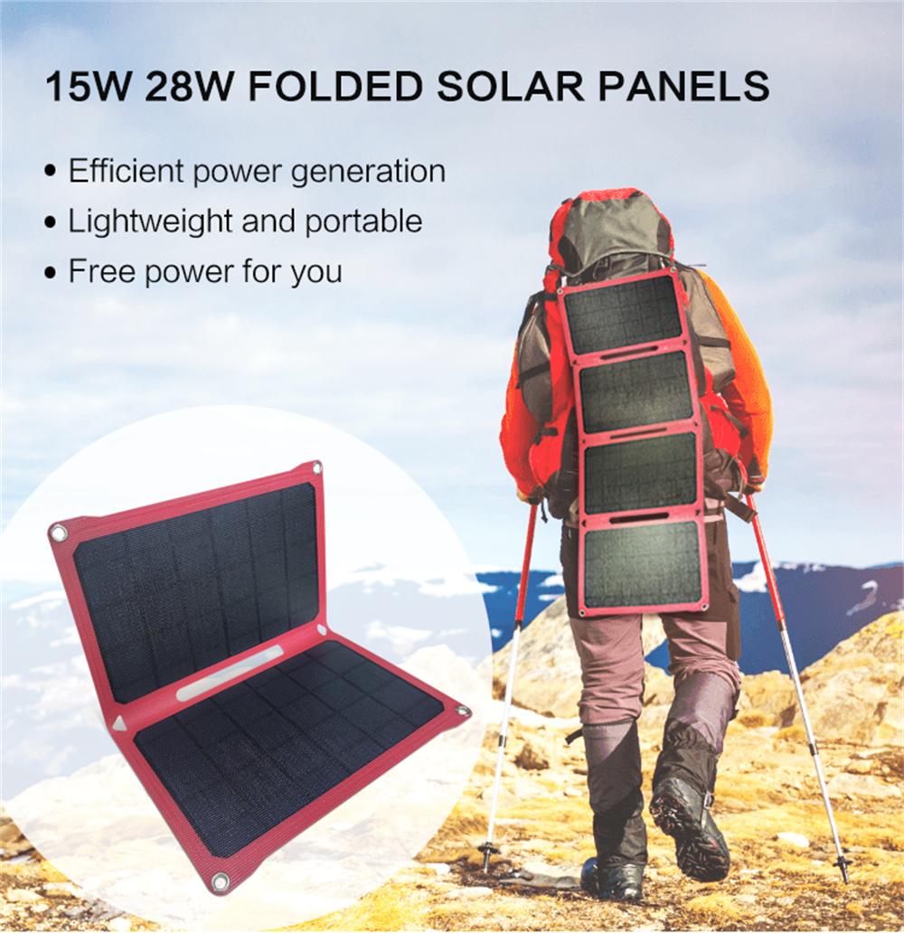 15w/28W Monocrystalline Solar Panel