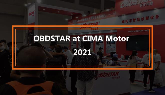 OBDSTAR at CIMA Motor 2021