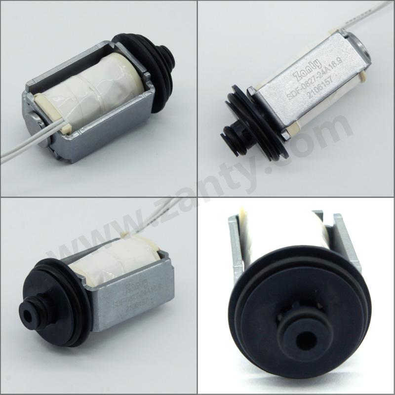 电磁阀SDF-0827 医疗设备分配器用高精度调节小型电磁气阀