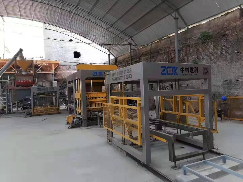 陕西QTY15-15生产现场