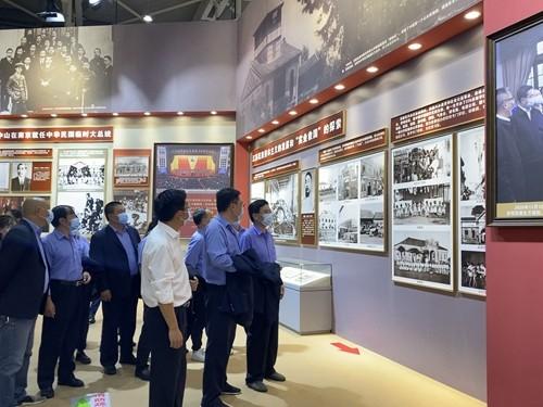 苏创公司党支部组织党史学习教育,参观中国共产党在江苏历史展